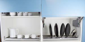 Cinco passos para organizar melhor a cozinha sob medida