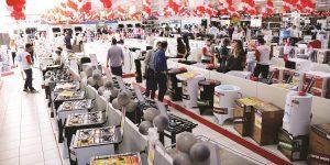 Varejo de móveis e eletrodomésticos registra alta em fevereiro
