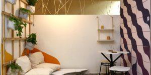 Projetos de interiores com recicláveis e reutilizados