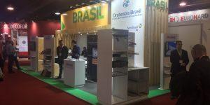 Empresas brasileiras participam da feira Fitecma com apoio do Projeto Orchestra Brasil