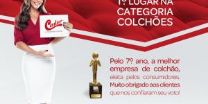Pela 7ª vez, Colchões Castor conquista o Prêmio Época Reclame Aqui