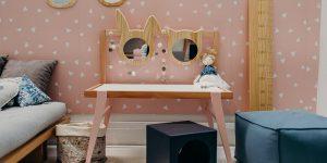 Marca de móveis infantis, Bododo lança penteadeira montessoriana