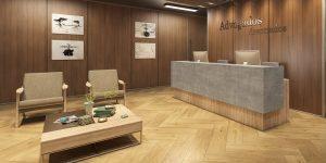 Linha Novitá da Eucatex decora ambientes corporativos