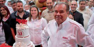 Presidente da Lojas MM comemora 42 anos de sucesso da empresa