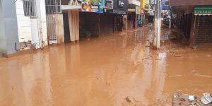 Chuvas fortes atingem Ubá e Intersind cria campanha para ajudar a cidade