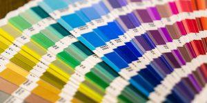 Uso das cores nos cartazes para o PDV