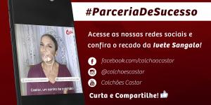 Colchões Castor reafirma parceria com Ivete Sangalo