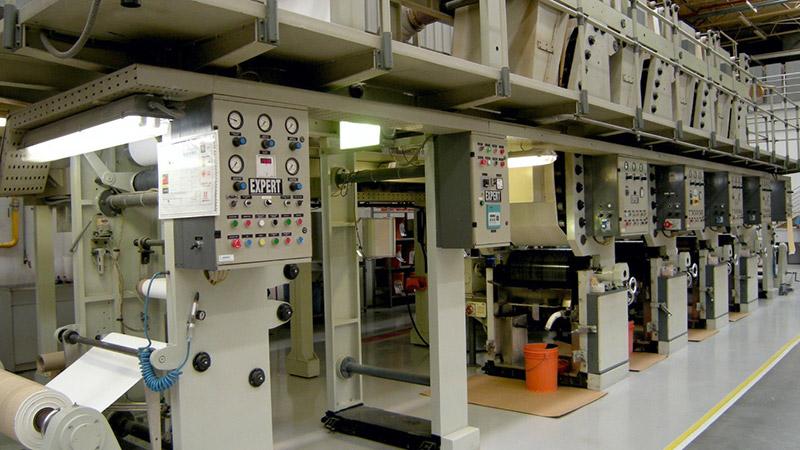 primeira máquina de laboratório – carinhosamente apelidada de BabyLine