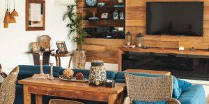 Duráveis, exclusivos e sustentáveis: móveis rústicos são opção para um lar mais charmoso