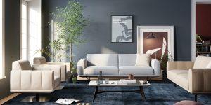 Natuzzi aposta em sofás no estilo clássico atemporal