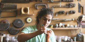 Galeria de fotos com produtos das mulheres marceneiras