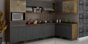 Vidros são um ótimo detalhe no design do mobiliário
