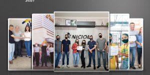 Empresas do Paraná e Santa Catarina comemoram Prêmio Top Móbile