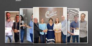 Fornecedores e fabricantes de móveis comemoram recebimento do troféu Top Móbile