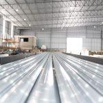 Aluxa amplia e diversifica produção de perfis de alumínio zerando descarte de resíduos